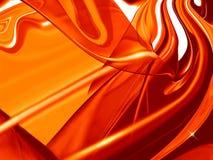 Rode abstracte achtergrond Royalty-vrije Stock Afbeelding