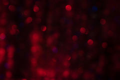 Rode Abstracte Achtergrond Bokeh Stock Afbeeldingen
