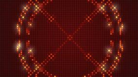 Rode abstracte achtergrond, lijn stock video