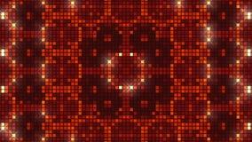 Rode abstracte achtergrond, lijn stock footage