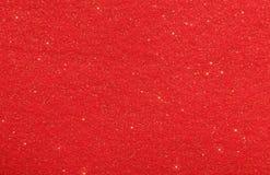 Rode abstracte achtergrond met schitterende sterren Stock Fotografie