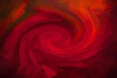 Rode abstracte draaikolkachtergrond Stock Afbeeldingen