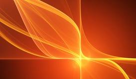 Rode abstracte illustratie Royalty-vrije Stock Foto