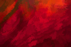 Rode abstracte korrelachtergrond Royalty-vrije Stock Afbeeldingen