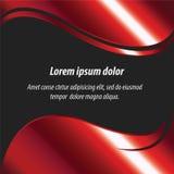 Rode abstracte lay-out, achtergrond en Vectorontwerp Royalty-vrije Stock Afbeeldingen