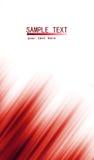 Rode abstracte Lichtenachtergrond Royalty-vrije Stock Foto's