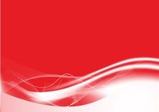 Rode abstracte lijnenachtergrond Stock Afbeeldingen