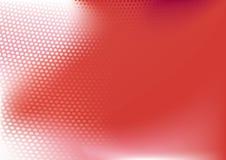 Rode abstracte technoachtergrond stock illustratie