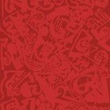 Rode abstracte textuur Royalty-vrije Stock Afbeelding