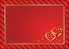 Rode achtergrond Royalty-vrije Stock Foto's