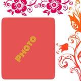 Rode achtergrond Stock Afbeelding