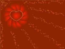 Rode achtergrond Royalty-vrije Stock Afbeelding