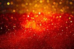 Rode achtergrond met bokeheffect voor de vakantie stock afbeelding
