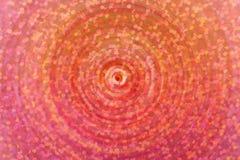 Rode achtergrond met cirkelmotie Royalty-vrije Stock Afbeeldingen