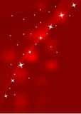Rode achtergrond met sterren vector illustratie
