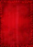 Rode achtergrond met sterren Stock Fotografie
