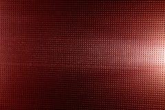 Rode achtergrond met zwarte punten en witte gloed stock afbeeldingen