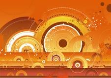 Rode achtergrond, vector   Royalty-vrije Stock Afbeelding