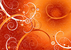 Rode achtergrond, vector   Stock Fotografie