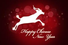 Rode Achtergrond voor Chinees Nieuwjaar Royalty-vrije Stock Fotografie