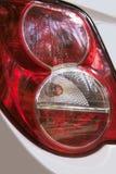 Rode achterlichten Stock Afbeelding