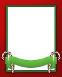 Rode & Groene achtergrond royalty-vrije stock foto