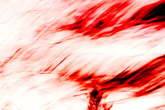 Rode & Witte geweven samenvatting Stock Afbeelding