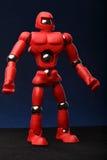 Rode androïde royalty-vrije stock fotografie