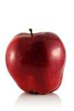 Rode appel. stock afbeelding