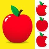 Rode appel Royalty-vrije Stock Fotografie