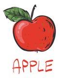 Rode appel Royalty-vrije Stock Foto
