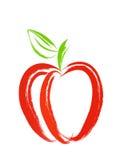 Rode Appel stock illustratie