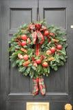 Rode appel en Spaanse peperskroon Stock Fotografie