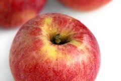 Rode appelen royalty-vrije stock afbeelding