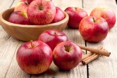 Rode appelen Stock Afbeelding