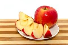 Rode apple#2 Stock Afbeeldingen
