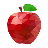 Rode Apple-samenvatting Royalty-vrije Stock Foto