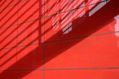 Rode architecturale samenvatting Royalty-vrije Stock Fotografie