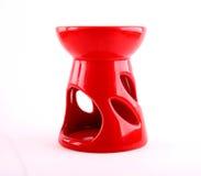 Rode aromalamp Royalty-vrije Stock Foto