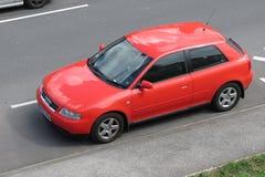 Rode Audi-auto Royalty-vrije Stock Afbeelding