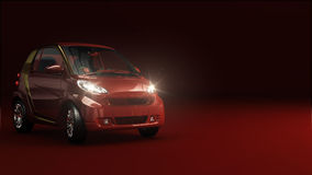 Rode auto vector illustratie