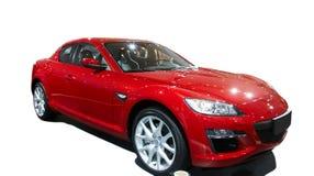 Rode auto Royalty-vrije Stock Fotografie