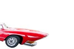 Rode auto royalty-vrije stock foto
