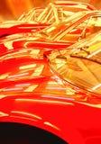rode auto's royalty-vrije stock fotografie