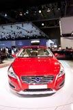 Rode auto Volvo c60 Stock Afbeeldingen