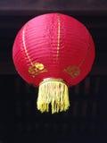 Rode Aziatische lantaarn Stock Afbeeldingen