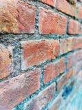 Rode baksteen stock afbeelding
