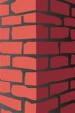Rode baksteen Stock Foto's