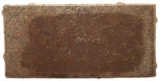 Rode Baksteen met Efflorescentie royalty-vrije stock afbeeldingen