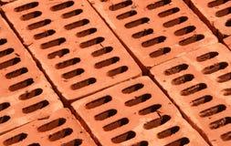 Rode bakstenen Stock Afbeeldingen
